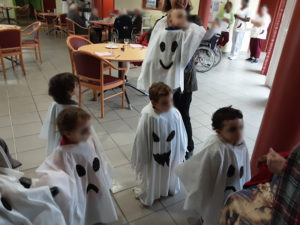 EPHAD-Inter-generationnel pour Halloween